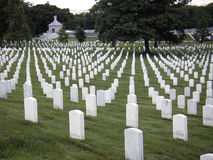 阿灵顿墓地国民 图库摄影