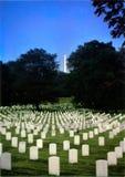 阿灵顿墓地国民 库存照片