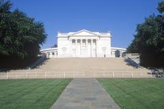 阿灵顿墓地的圆形剧场 图库摄影