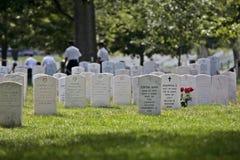 阿灵顿墓地 免版税图库摄影