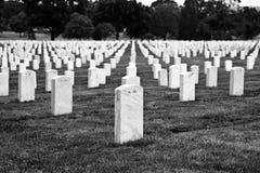 阿灵顿墓地 免版税库存照片