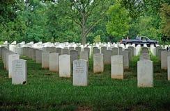阿灵顿墓地dc国民华盛顿 库存照片