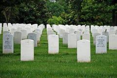 阿灵顿墓地dc国民华盛顿 免版税库存图片
