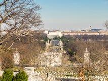 从阿灵顿的林肯纪念堂 免版税库存照片