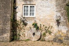 阿灵顿磨房, Bibury,英国 库存图片
