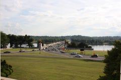 阿灵顿纪念碑桥梁 免版税图库摄影