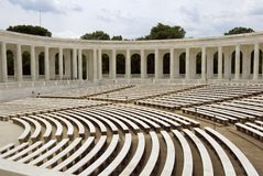 阿灵顿观众席墓地国民 免版税库存图片
