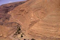 阿特拉斯山脉大彻尔du Tichka,摩洛哥 库存图片