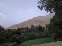 阿特拉斯山脉 库存图片