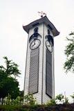 阿特金森尖沙咀钟楼在亚庇,马来西亚 库存照片