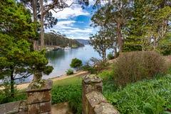 阿瑟港古迹-塔斯马尼亚岛-澳大利亚 免版税图库摄影