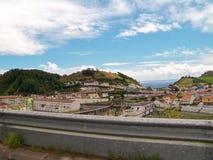 阿瓜de波城风景  免版税库存照片