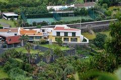 阿瓜de波城风景  免版税库存图片
