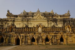 阿瓦的玛哈Aungmye Bonzan修道院 库存照片