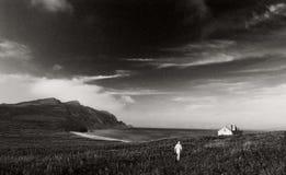 阿穆尔河海湾。 日本海。 库存图片