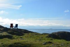 阿第伦达克山脉风景 免版税图库摄影