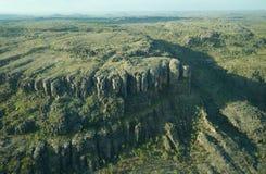 阿纳姆地,北澳大利亚鸟瞰图  免版税库存图片