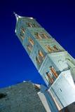 阿纳斯塔西娅钟楼教会黄昏st 图库摄影
