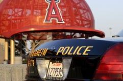 阿纳海姆警察 免版税库存图片