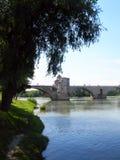 阿维尼翁桥梁 免版税库存图片