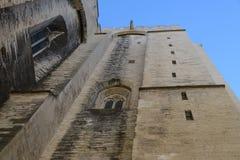 阿维尼翁:教皇的宫殿 图库摄影