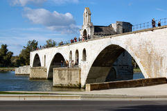 阿维尼翁d pont 库存图片