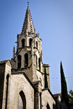阿维尼翁des宫殿palais papes教皇 免版税库存照片