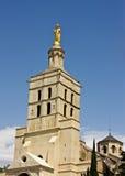 阿维尼翁des palais papes s 免版税图库摄影