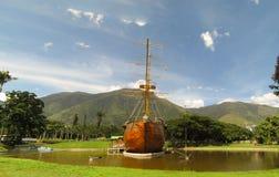 阿维拉山加拉加斯委内瑞拉Warairarepano美丽的景色  免版税库存图片