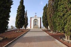 阿罗纳教堂tenerife 免版税图库摄影