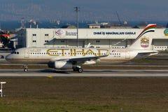 阿联酋联合航空空中客车A320 库存照片