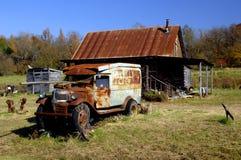 阿肯色客舱美国东南部山区的农民 免版税库存图片
