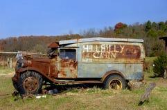 阿肯色自动美国东南部山区的农民 库存图片