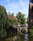 阿莫斯福特市中心,荷兰 免版税库存图片