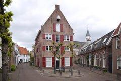 阿莫斯福特,美丽的老商业同业公会的城市在荷兰 库存图片