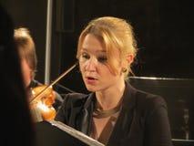 阿莱娜Macova (女高音) 库存照片