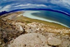 阿萨勒湖 库存图片