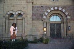 阿西西圣法兰西斯大教堂大教堂  免版税图库摄影