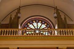阿西西圣法兰西斯大教堂大教堂  免版税库存图片