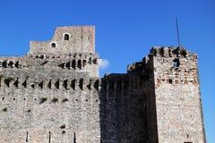 阿西西,意大利透视  免版税库存照片