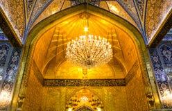 阿訇侯赛因寺庙在卡尔巴拉 库存照片