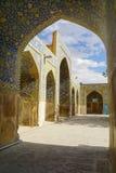 阿訇清真寺在伊斯法罕,伊朗 库存照片