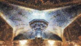 阿訇礼萨寺庙在马什哈德,伊朗 库存图片