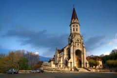 阿讷西大教堂法国访问 免版税库存照片