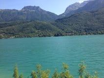 阿讷西湖 图库摄影