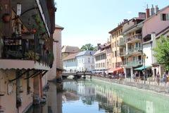 阿讷西,欧特萨瓦省,法国 免版税库存图片
