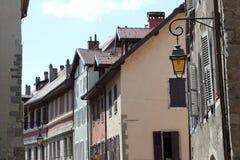 阿讷西,法国建筑学  图库摄影