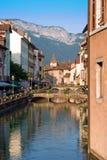 阿讷西,法国 免版税库存图片