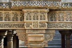 阿达拉杰Stepwell在Ahmadabad,印度 免版税库存照片