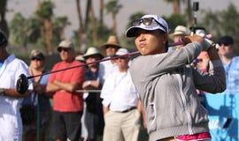 阿那启发高尔夫球比赛的丽迪雅Ko 2015年 库存照片